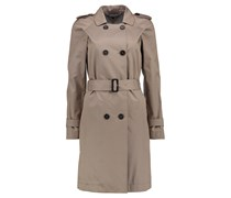 Tommy Hilfiger: Damen Trenchcoat City Cotton Trench, camel