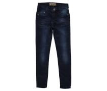 Mädchen Jeans Skinny Fit, darkblue