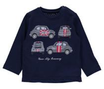 Jungen Baby-Shirt Autos, Blau