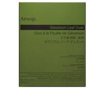 """Pflegeset """"Geranium Leaf Duet"""" - Reinigungsgel """"Geranium Leaf Body Balm"""" und Körperbalsam """"Geranium Leaf Body Cleanser"""""""