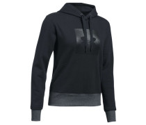 Damen Sweatshirt mit Kapuze Threadborne Fleece BL Hoodie, Schwarz