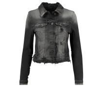 Damen Jeansjacke, schwarz