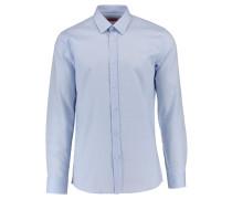 HUGO: Herren Hemd Elisha01 Langarm, blau