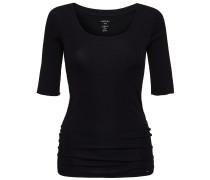 Marc Cain: Damen Shirt  Halbarm, schwarz