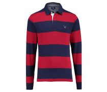 Herren Poloshirt The Original Barstripe Heavy Rugger Langarm