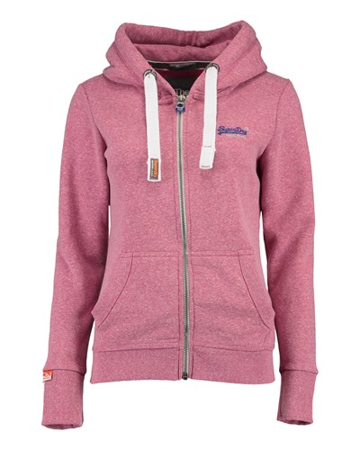 superdry damen superdry damen sweatjacke primary ziphood rosa 25 reduziert. Black Bedroom Furniture Sets. Home Design Ideas