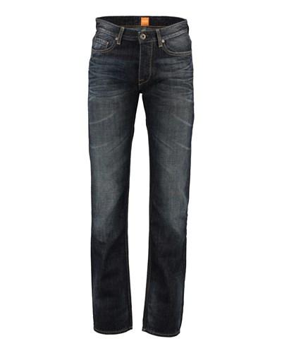 hugo boss herren boss orange herren jeans orange 25 marine reduziert. Black Bedroom Furniture Sets. Home Design Ideas