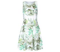 Damen Kleid, weiss / grün