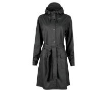 "Damen und Herren Regenjacke ""Curve Jacket"", schwarz"