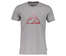 "Herren T-Shirt ""KielM."", hellgrau mel."