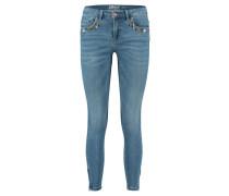 """Damen Jeans """"Kendell Zoe Ank Zip"""" Skinny, blue"""