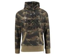 "Sweatshirt ""Surplus Goods Graphic Hood"", oliv"