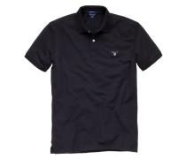 Herren Poloshirt, schwarz