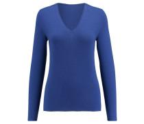 Damen Kaschmir-Pullover, nachtblau