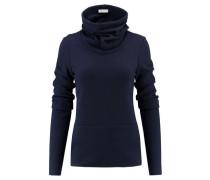 Damen Pullover Langarm, Blau
