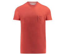 """Herren T-Shirt """"Slubstitution"""", rot mel."""