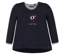 Mädchen Kleinkind Sweatshirt, marine