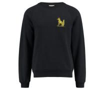 "Herren Sweatshirt ""Henric Fox EMB"" Langarm, marine"