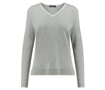 Damen Pullover Langarm, silber