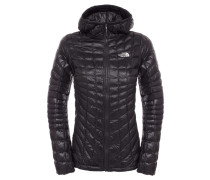 Damen Outdoor-Steppjacke / Thermojacke mit Kapuze Thermoball Hoodie W