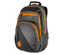 """Rucksack """"Stash Pack"""", schwarz/orange"""