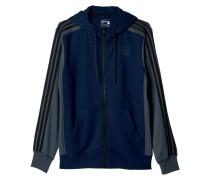 Herren Trainingsjacke Sport Essentials 3S Fullzip Hoodie Fleece Gr. LXL