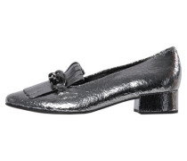 Damen Loafers, silber