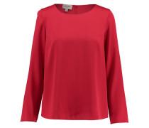 Damen Bluse Langarm, Rot