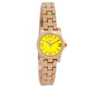 OOZOO: Damen Uhr C5790, gelb