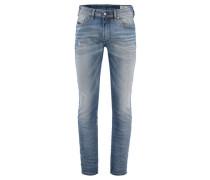 Herren Jeans Thommer 084IK Stretch Slim-Skinny, Blau