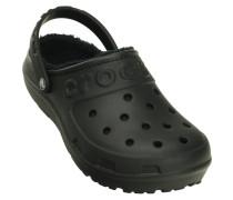 Herren Crocs Hilo lined Clogs black/black