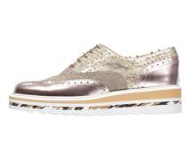 Damen Schnürschuhe, gold