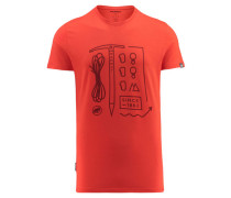 "Herren Klettershirt ""Sloper T-Shirt Men"", orange"