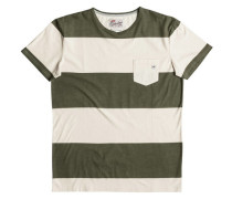 """Herren T-Shirt """"Maxed Out Hero"""", olive"""