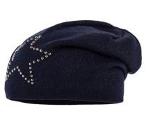 Mädchen Beanie Mütze, marine