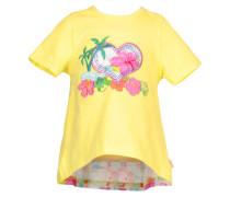 Mädchen Baby T-Shirt, Gelb