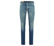 "Herren Jeans ""George"" Skinny Fit, stoned blue"