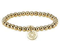 Damen Flexarmband, gold