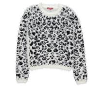 Mädchen Pullover, Weiß