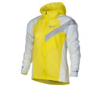 Boys Laufjacke Impossibly Light Running Jacket, Gelb