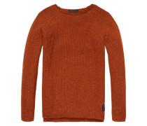 Herren Pullover, Orange