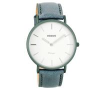 OOZOO: Damen Uhr Ultra Slim Vintage C7739, bleu