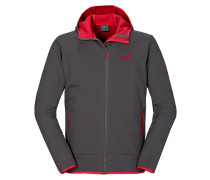 Herren Softshelljacke mit Kapuze Glacier Valley II Jacket Men