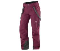 Haglöfs: Damen Bergsporthose / Skihose / Freeride-Hose Line Pant Women, viola