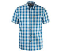 Herren Wanderhemd / Outdoor-Hemd Övik Button Down Shirt S/S, Blau