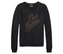 Damen Sweatshirt, schwarz