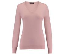 Damen Kaschmir-Pullover, rose