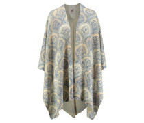 Damen Poncho Stepherd Stola Royal Check
