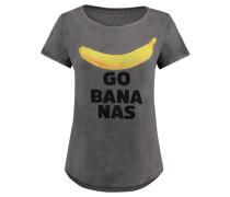 Damen T-Shirt Go Bananas, Grau