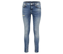 "Jeans ""Halle"" Mid Rise Super Skinny"
